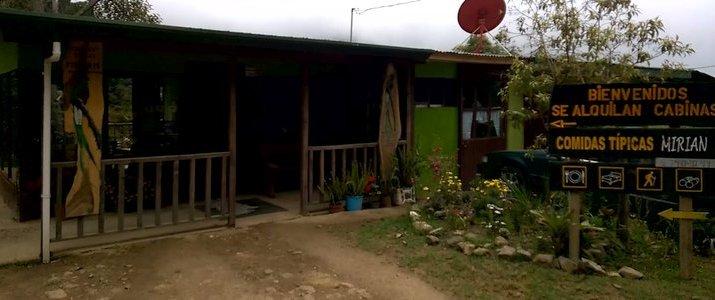 Cabinas Miriam's Quetzals San Isidro del General San Gerardo de Dota Chirripo Montagne Restaurant Extérieur