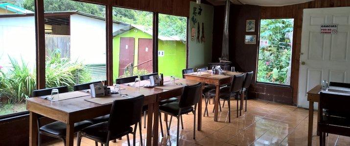 Cabinas Miriam's Quetzals San Isidro del General San Gerardo de Dota Chirripo Montagne Restaurant