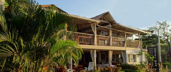 M&M - Garden House Playa del Coco Guanacaste Hotel Jardin Tropical