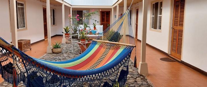 M&M - Garden House Playa del Coco Guanacaste Hotel Jardin Tropical Piscine Hamac