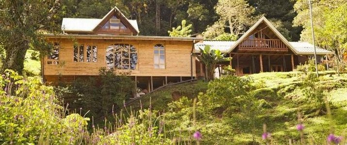 Cedrela Ecolodge San Isidro del General Copey Montagne Foret Hotel