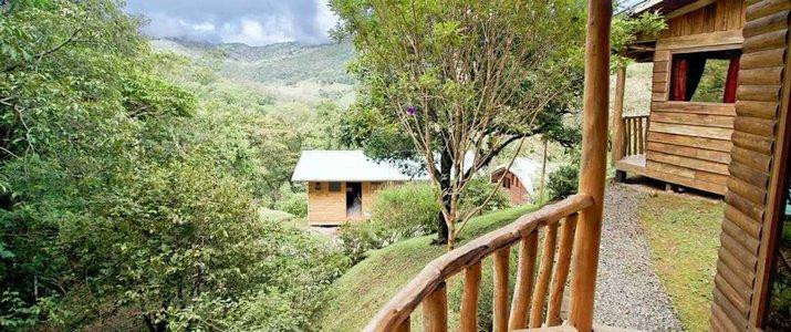 Cedrela Ecolodge San Isidro del General Copey Montagne Foret Hotel Terrasse