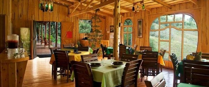 Cedrela Ecolodge San Isidro del General Copey Montagne Foret Hotel Restaurant
