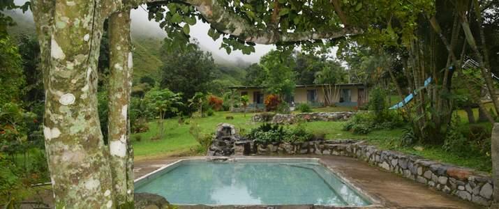 San Isidro del General Ujarras Rocas Calientes Hotel