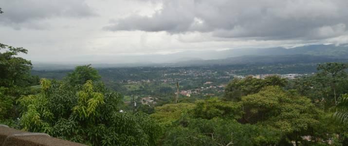 La Princesa Hotel San Isidro vue panoramique vallée Chirripo