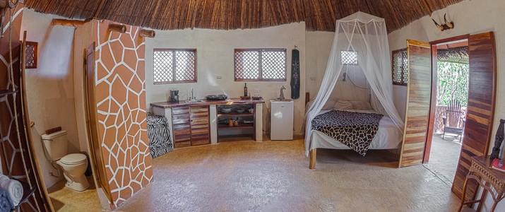 Interior African Cabina
