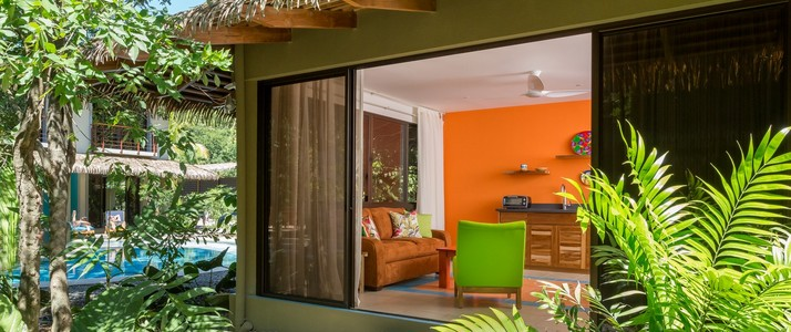 Suite jardin tropical Olas Verdes Costa Rica