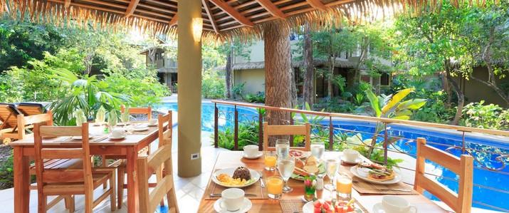restaurant el manglar piscine Olas Verdes Costa Rica