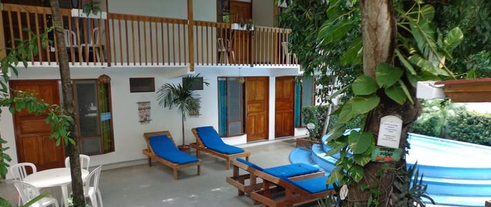 détente jacuzzi terrasse casa del mar Samara Costa Rica