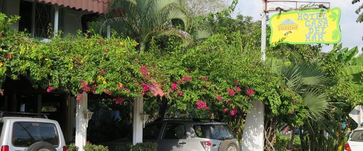 hotel casa del mar façade Samara Costa Rica