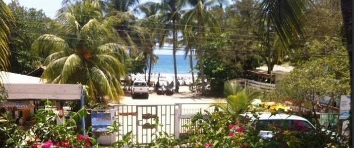 hotel casa del mar vue plage Samara Costa Rica