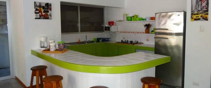 El Cactus hôtel cuisine commune Samara