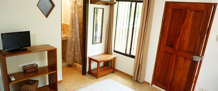 hôtel Casa Buenavista chambre double salle de bain plage carrillo