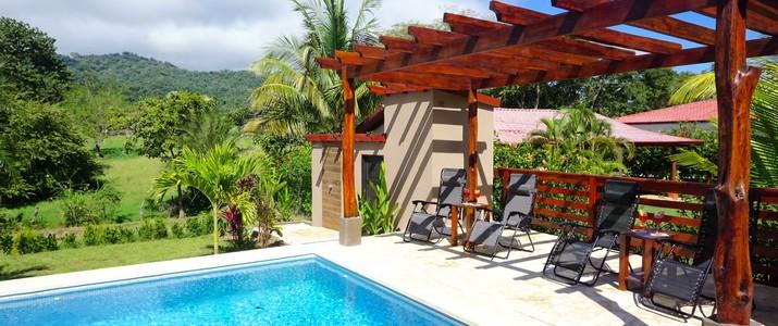 hôtel Casa Buenavista terrasse nature plage carrillo