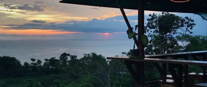 Hotel Vista Serena coucher de soleil