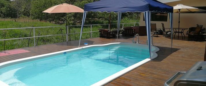 Charlie's Jungle House Playa Matapalo piscine