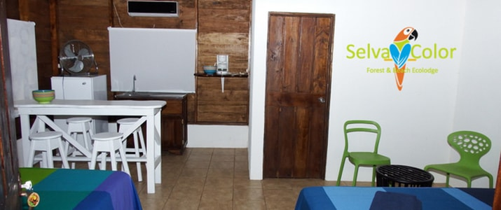 Selva Color - Forest & Beach Ecolodge Quebrado Ganado chambre