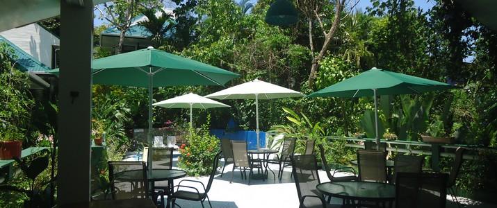 Hotel Mandarina Quepos terrasse