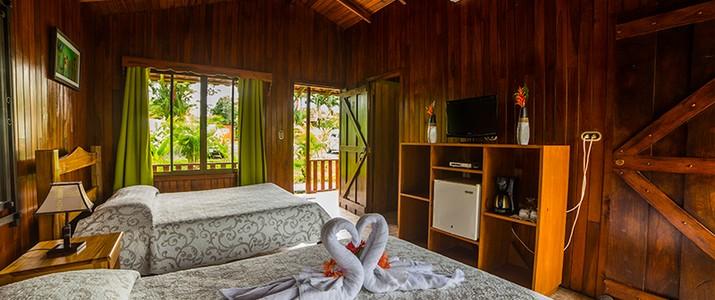 Hotel Rancho Cerro Azul La Fortuna chambre