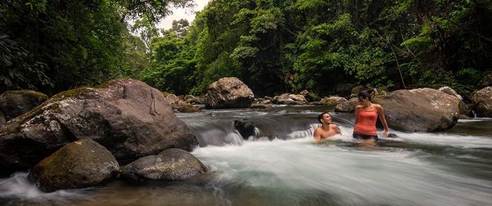 Hotel Rancho Cerro Azul La Fortuna rivière
