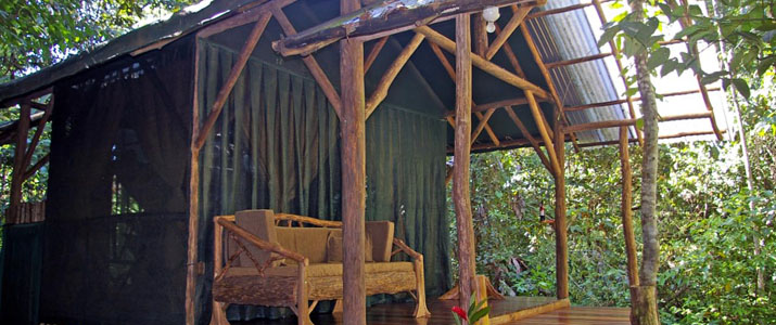 Corcovado Danta Lodge bungalow
