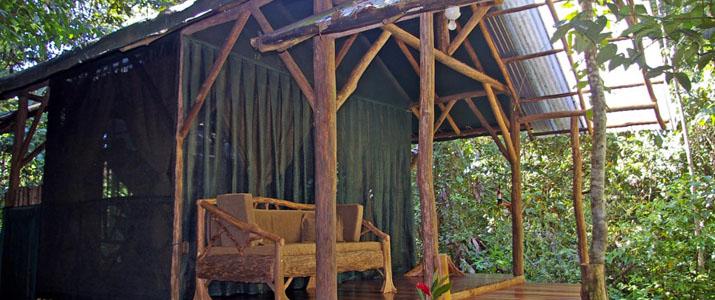 Corcovado Danta Lodge bungalow