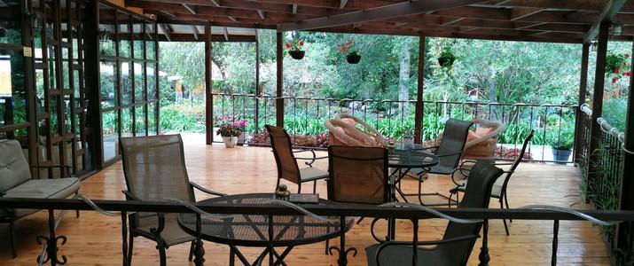 Hotel de Montaña Suria San Gerardo de Dota terrasse
