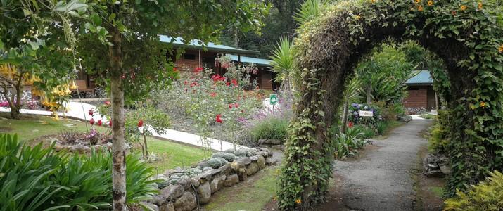 Savegre Hotel Reserve Natural & Spa San Gerardo de Dota jardin