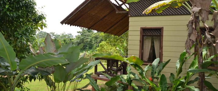 Maquenque Lodge Boca Tapada Verdure Cabina en Bois