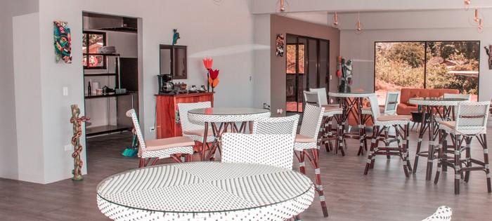 Espace petit-déjeuner Hotel Margarita Drake