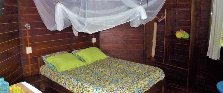 Finca Valeria Caraïbes sud Playa Cocles chambre