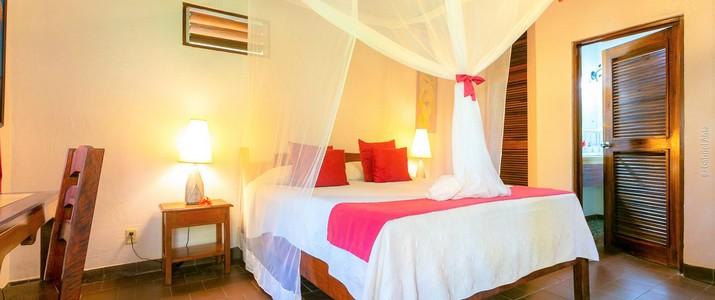 El Encanto Inn Cahuita Caraïbes Sud chambre