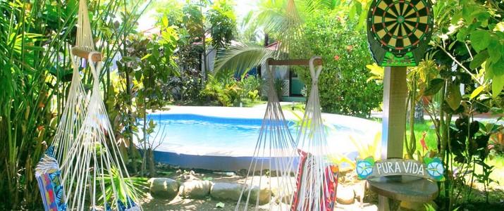 El Encanto Inn Cahuita Caraïbes Sud piscine
