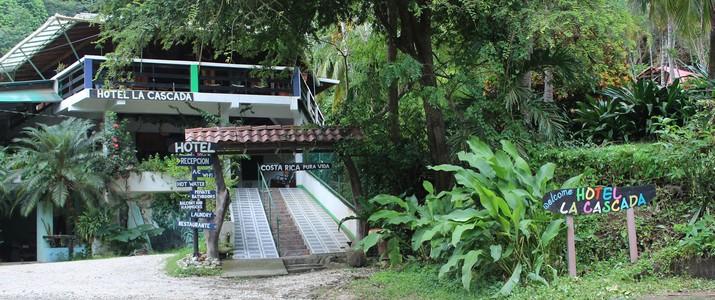 Hôtel La Cascada Montezuma Nicoya entrée