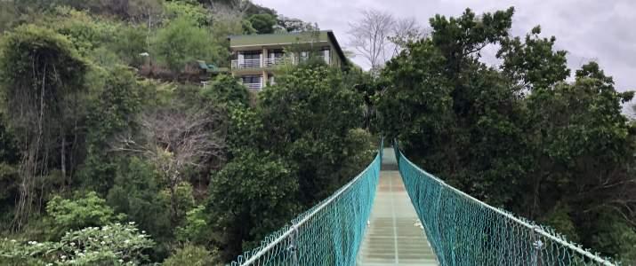 SunTrails Lodge Montezuma NICOYA pont suspendu