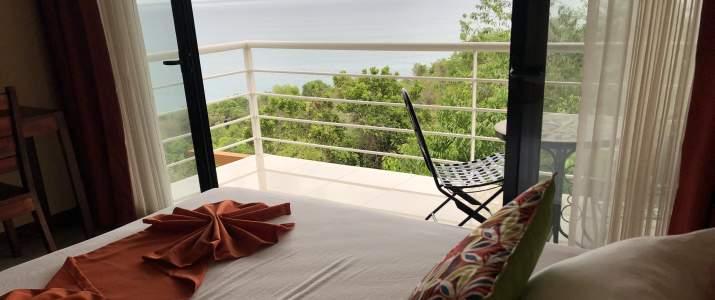 SunTrails Lodge Montezuma NICOYA pont vue balcon
