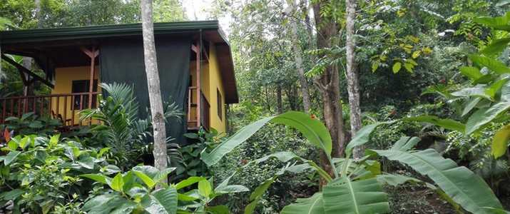Tiriguro Lodge Orotina Pacifique centre bungalow