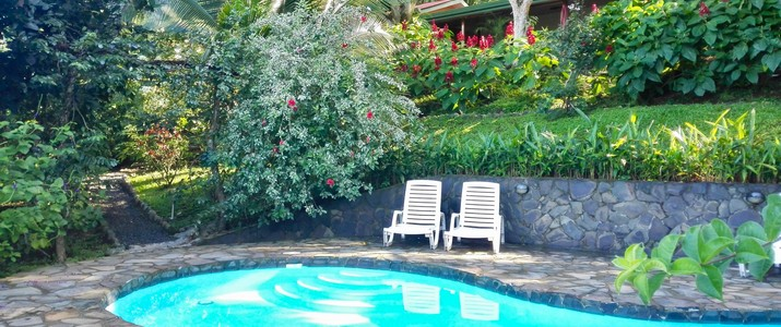 Tiriguro Lodge Orotina Pacifique centre piscine
