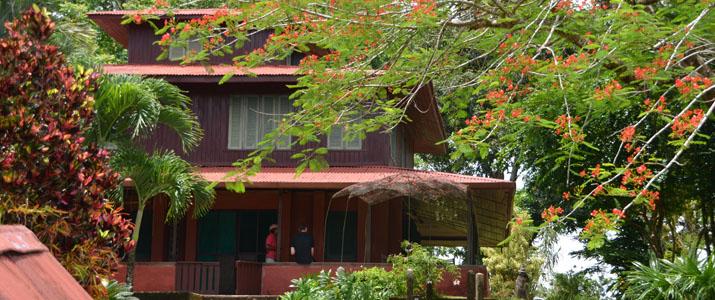 Veragua River House Hotel Corcovado Costa Rica Nature