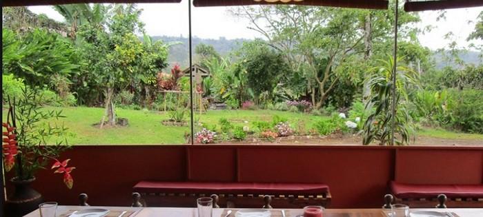 Posada Rural Casa Aquiares restaurant
