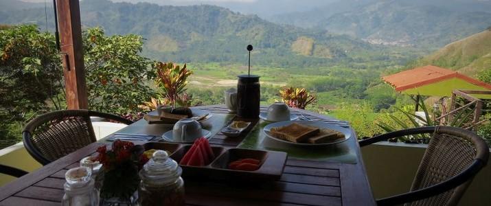 Rinconcito Verde Petit-déjeuner Paraiso
