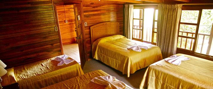 Santa Elena Lodge Guanacaste Bahia Salinas chambre bois