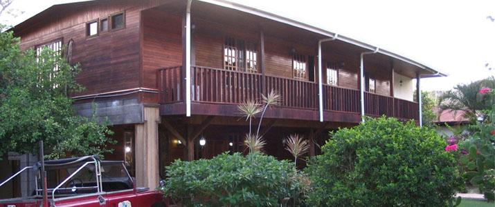 Santa Elena Lodge Guanacaste Bahia Salinas extérieur bois balcon