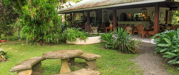 Hôtel Magella Inn Caraïbes Sud Cahuita Hotel vue extérieur