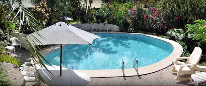 hôtel Magella In piscine fleur soleil terrasse