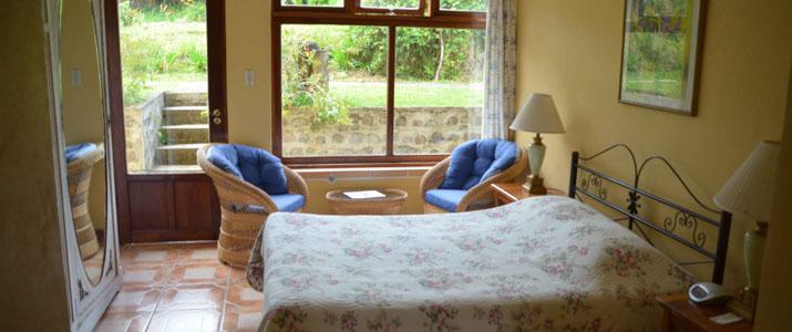Guayabo Lodge Turrialba Santa Cruz Costa Rica Hotel Chambre