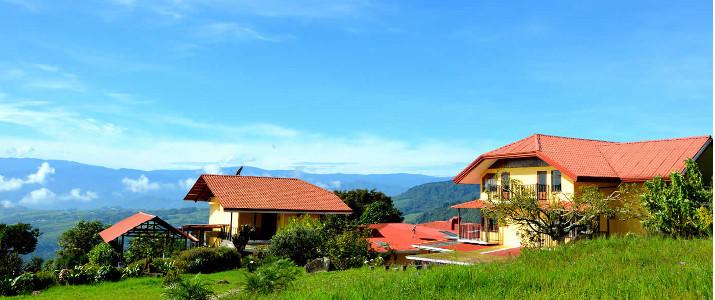 Guayabo Lodge Turrialba Santa Cruz Costa Rica Hotel Lit