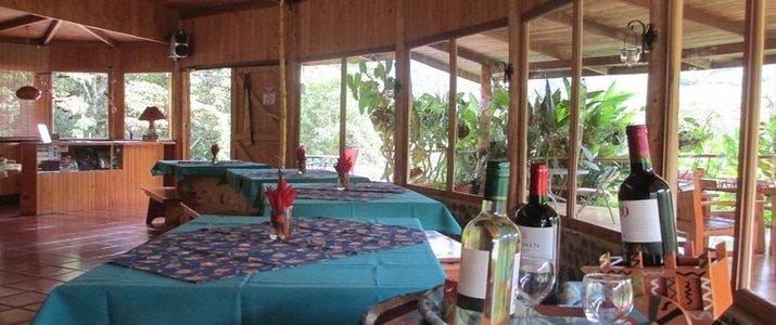 El Toucanet Lodge Restaurant San Isidro del General Copey Costa Rica Hotel