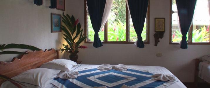 Hotel de Campo Chambre Lit Costa Rica