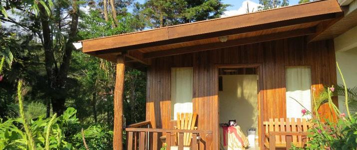 Belcruz B&B Monteverde Réserve Santa Elena Cabinas Bungalows Bois Maisonnette